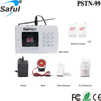 2016 Newest Top Saful GSM-X6 Intelligent Security GSM PSTN Dual Network Alarm System