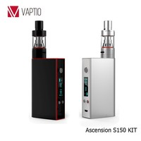 2016 newest electronic cigarette Vaptio S150 150W 0.05-2.0ohm TC mode ego ce4 cigrate