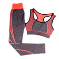 Girls sexy fitness active wear sport wear set