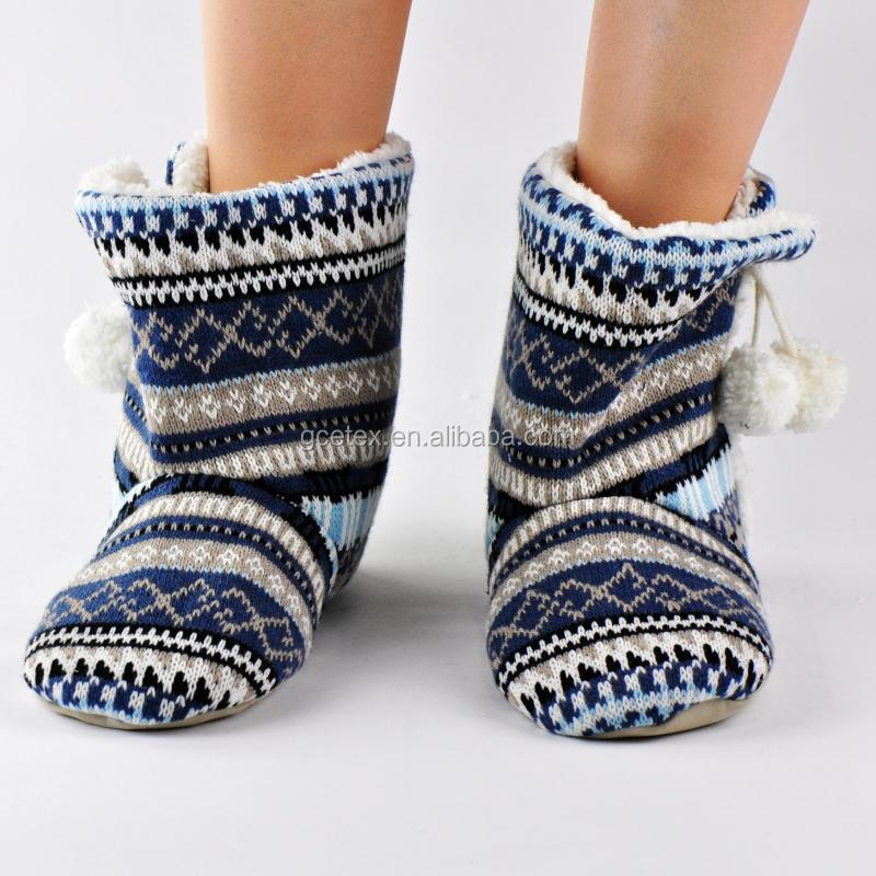Knitted boots women shoes 2016 for women boots winter