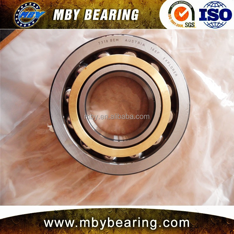 China Manufacturer Double Row Angular Contact Ball Bearing 7318 BEM