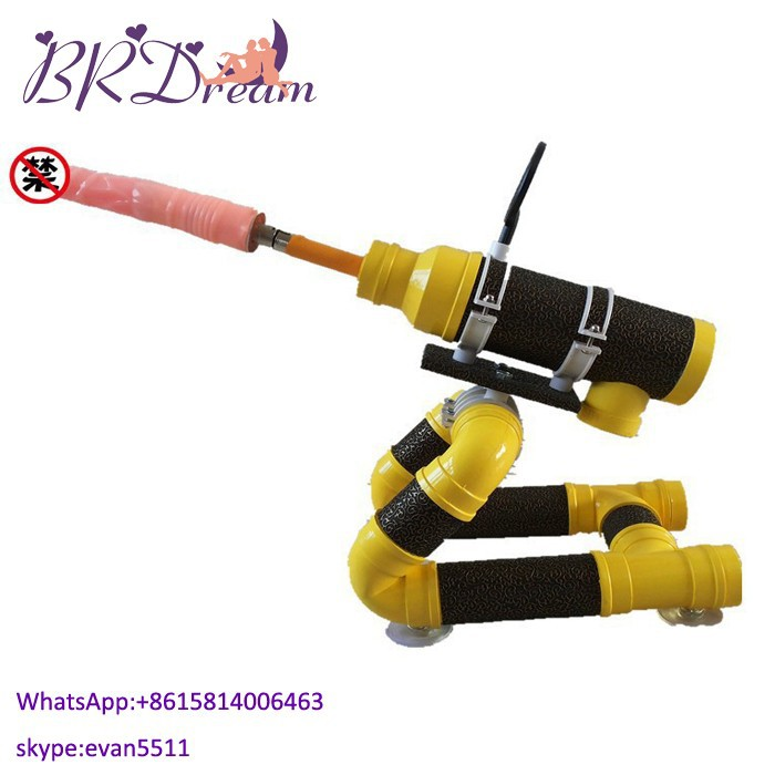 2015 Multifunction Gun Massager With Rearview Mirror Sex Toys For Woman Sex Machine With Dildo