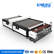 High speed CO2 auto feed laser cutting machine with low price