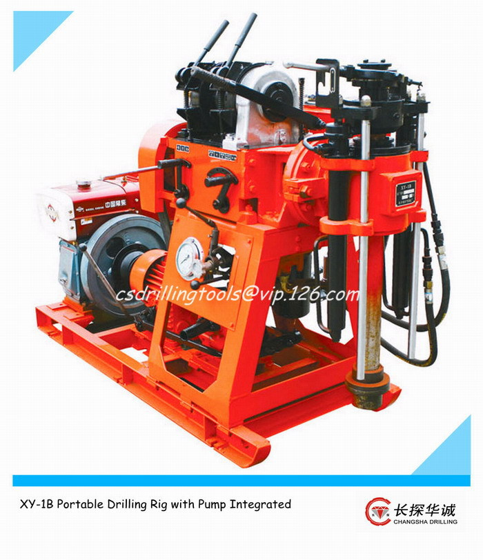 XY-1 Portable Drilling Rig Machine