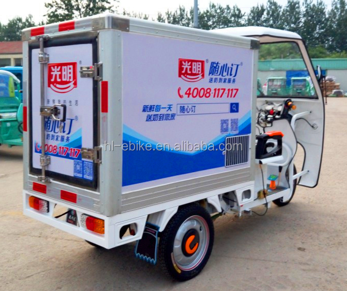Electric refrigerated vehicles/tricycles for refreshing-preservation/milk floating/fresh food deliver vehicle 31000022