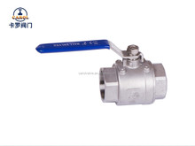 China manufacturer two piece ball valve