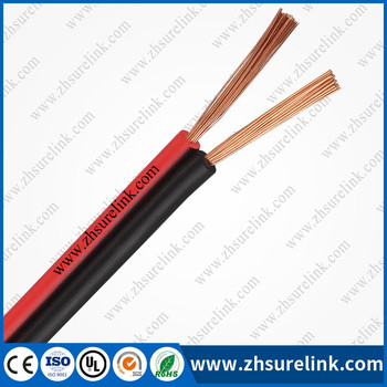 red and black cable speaker cable