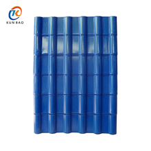 Corrugated Plastic Spanish style ASA synthetic resin tile Roofing Sheets
