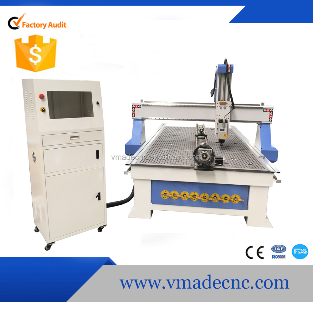 1530 (1500*3000 MM ) Rotary 4 Axis CNC Router Cutting Machine For Sale