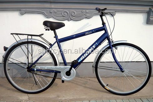 blue 1speed bicycle SH-MTB072