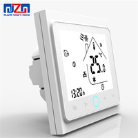 Smart Home Thermostat WiFi/Modbus/Normal Programmable Touch Screen Thermostat For Fan Coil BAC-002 MJZM Brand