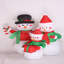 Decorative Inflatable snowman for Christmas