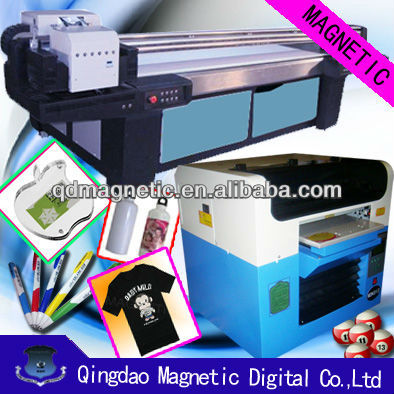 A3 SIZE t-shirt flatbed printer( CE AND OCE)