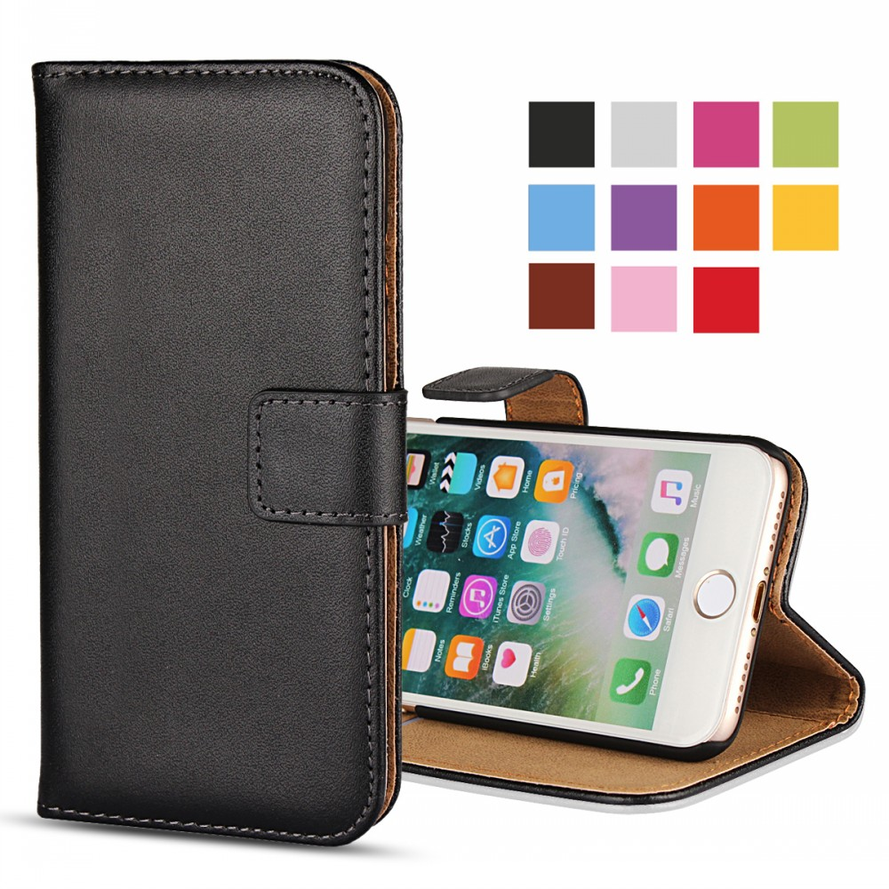 Mobile Phone Pouch Bag Funda Coque Wallet Leather Flip <strong>Cover</strong> for iPhone 4/4S 5/5S/SE 6/6s 6 Plus/ 6s Plus 7/7 Plus Case