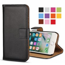 Mobile Phone Pouch Bag Funda Coque Wallet Leather Flip Cover for iPhone 4/4S 5/5S/SE 6/6s 6 Plus/ 6s Plus 7/7 Plus Case