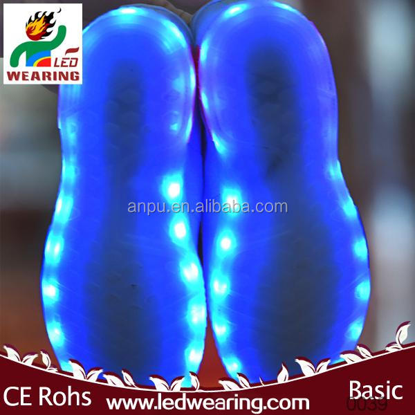 sneakers led shoes for women/men sneakers led heel glider street glider flashing roller skate