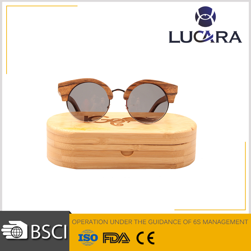 sunglasses custom logo hinge wood sunglasses for adult