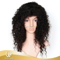 2016 Custom Handmade Human Hair Wig With Bundles And Closures