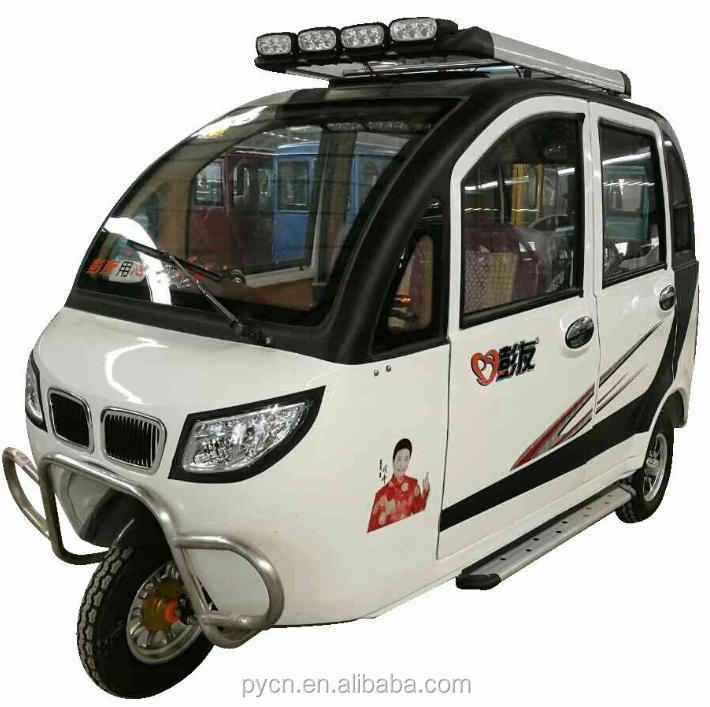 2017 Hot Sale Eledtric Tricycle for Passenger and Cargo/3 Wheel E Rickshaw TukTuk
