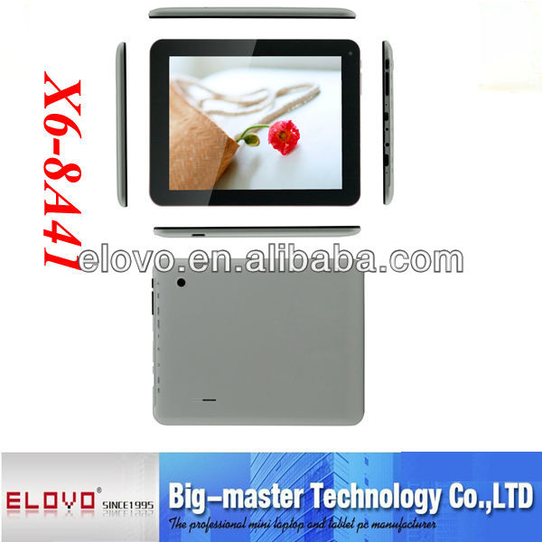 android 4.2 bluetooth tablet pc 8 inch wifi antennna