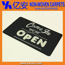 Welcome entrance printed non-woven anti-slip door mat