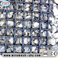 Heavy duty 65mn steel crimped wire mesh for coal Vibrating Screener