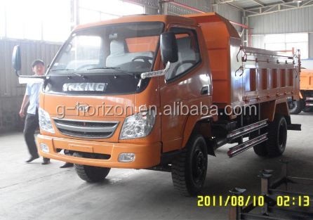 Widely Used Mini Truck 10T 4x2 6 Tires Light Cargo Truck