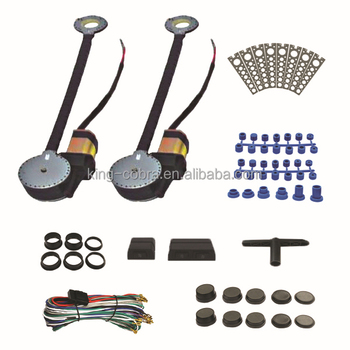 12V universal power window lifters for 2-door car