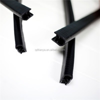 Supply extrusion compound Rubber EPDM Solid Rubber Seal Strip with steel of environmental material