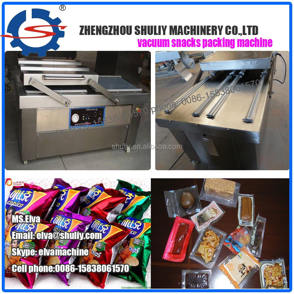 Automatic electric chicken leg vacuum packing machine
