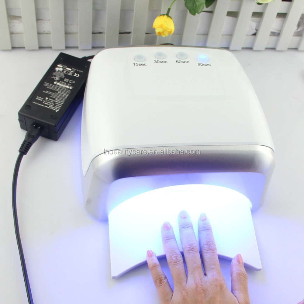 Powerful 60W (24w led +36w ccfl ) LED Nail Dryer CCFL Curing Light that can cure all the gels