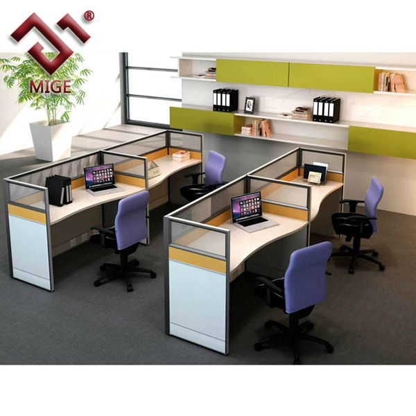 Wood Office Cubicles ~ T shaped wood office cubicle for person buy