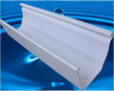 plastic (PVC) gutters, pipes and fittings