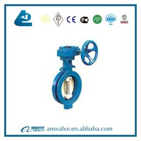 Ductile Cast iron body Pipenet eccentric butterfly valve