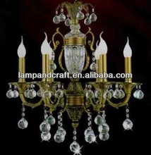 2014 Home common Crystal colored glass chandeliers