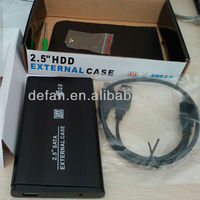 "USB 2.0 2.5"" SATA HDD case for external hdd without hd"
