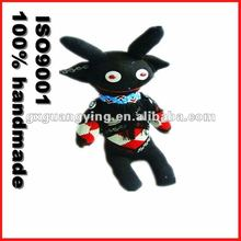 black handmade Socks dolls