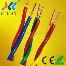 Copper conductor RVS power cable power wire copper cable RVS 2x1mm2 Electric Power cable