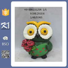Newly design decorative resin owl for decoration