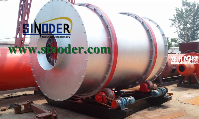 Supply Quartz sand dryer machinery used for dry Quartz sand ,sawdust and mine powder-- Sinoder Brand