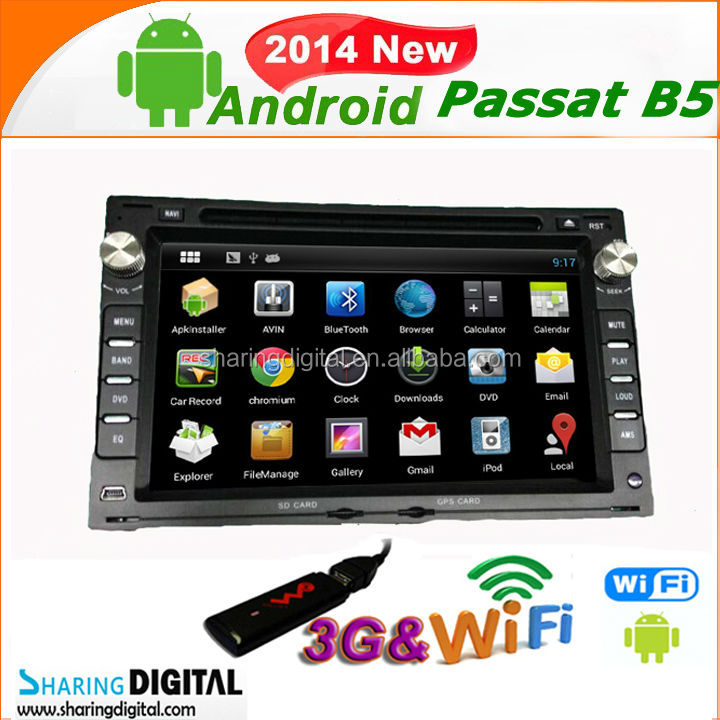 Android 4.2OS with Dual-core Powerful A9 volkswagen Passat B5 multimedia player