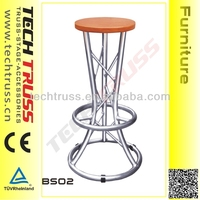 BS02 Height 830mm New Designed Bar Stool Stylish , Aluminum Bar Stool Stylish