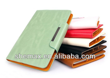 Fancy Diary Wallet Leather Stand Case Cover for iPad Mini