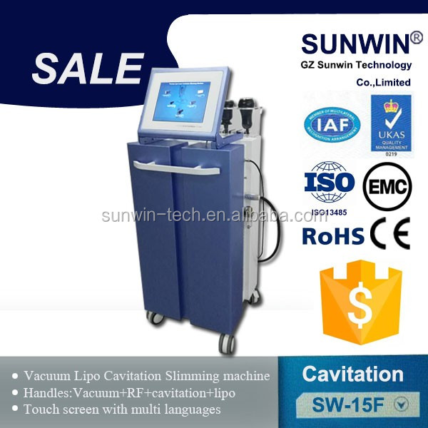 Ultrasonic Cavitation and Vacuum Slimming Equipment Fat Burning Weight Loss Machine
