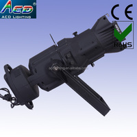 120w 19degree white 6500k led profile spotlight lighting, led gobo projector,led ellipsoidal light