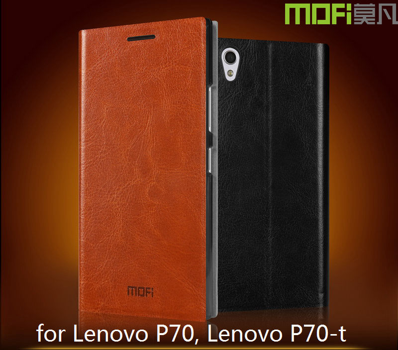MOFi Phone Accessories for Lenovo P70 Case, Flip Leather Case for Lenovo P70 Back Cover