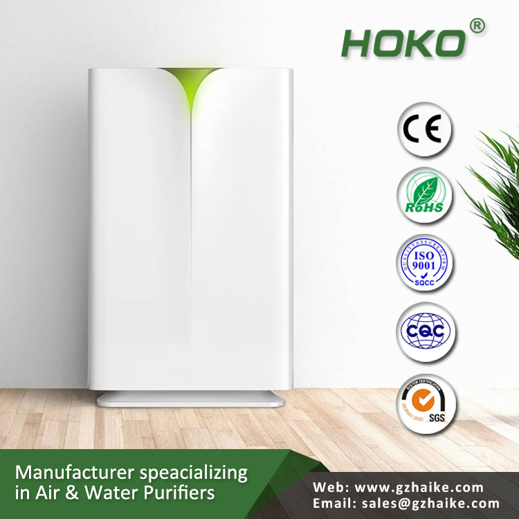 YM-A039 2016 hot sell floorstanding hotel air purifier ionizer, air purifier for office