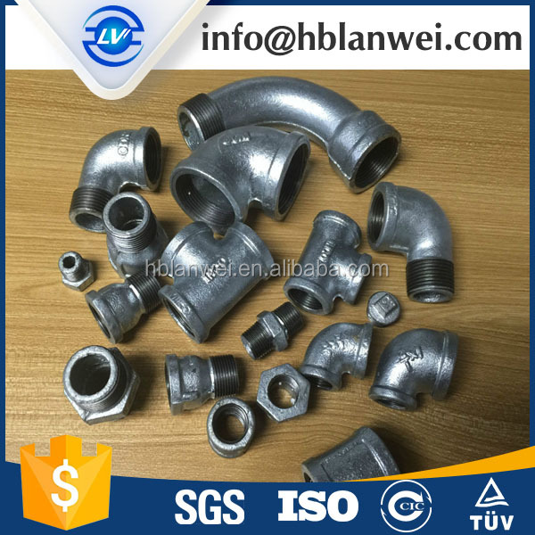 Elbow Type and Equal Shape ductile iron pipe fitting