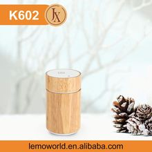 Nebulizing Diffuser K602 Wood 7 Color Changing Light Night Elves Portable Usb Atomizer Humidifier Essential Oil Diffuser