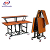 Hot selling high quality hotel restaurant buffet dining table with low price